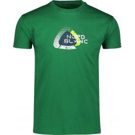 Pánské triko Nordblanc Remiss Velikost: M / Barva: zelená Pánská trička