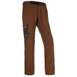 Pánské kalhoty Kilpi James (2017) Velikost: L / Barva: hnědá