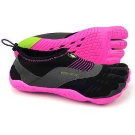 Dámské boty do vody Body Glove 3T Cinch Velikost bot (EU): 37 / Barva: černá/růžová Dámská obuv