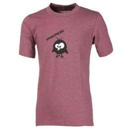 Dětské triko Progress Bambino Ptáček Dětská velikost: 128 (7-8 let) / Barva: růžová Dětské spodní prádlo