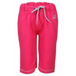 Dětské kalhoty Alpine Pro Roobo Velikost: 152-158 / Barva: růžová Dětské šortky