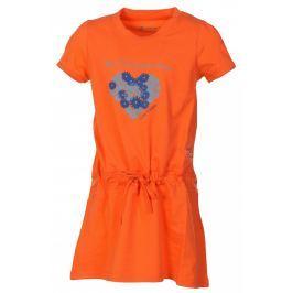 Dětské šaty Alpine Pro Sunko Velikost: 140-146 Šaty, sukně