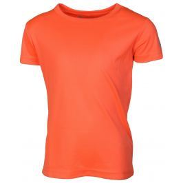 Dětské triko Alpine Pro Diaro Velikost: 140-146 / Barva: oranžová Dětské spodní prádlo
