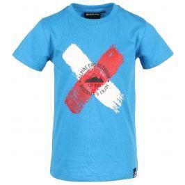 Dětské triko Alpine Pro Biltmoro Dětská velikost: 152-158 / Barva: modrá