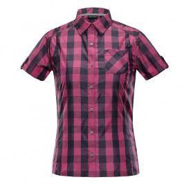 Dámská košile Alpine Pro Lurina Velikost: M / Barva: růžová Dámské halenky a košile