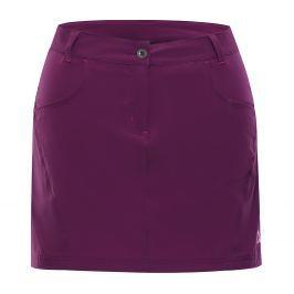 Dámská sukně Alpine Pro Delma 2 Velikost: M / Barva: fialová Dámské šaty