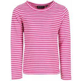 Dětské triko Alpine Pro Benigno Dětská velikost: 140-146 / Barva: růžová