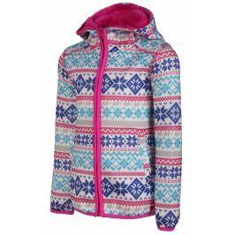 Dětský svetr Alpine Pro Oko Dětská velikost: 140-146 / Barva: růžová Mikiny a svetry