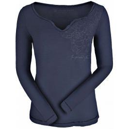 Dámské triko Alpine Pro Tiana Velikost: M / Barva: černá Dámská trička