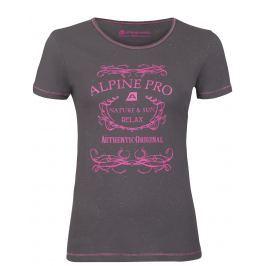 Dámské triko Alpine Pro Rozena 3 Velikost: L / Barva: šedá