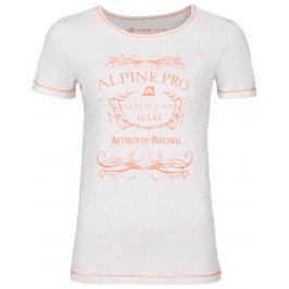 Dámské triko Alpine Pro Rozena 3 Velikost: S / Barva: bílá