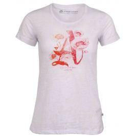Dámské triko Alpine Pro Maxwella Velikost: L / Barva: bílá