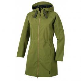Dámský softshellový kabát Husky Sara L S Velikost: L / Barva: zelená Dámské bundy a kabáty