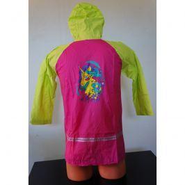Pláštěnka 2You pro děti Koník 808 Dětská velikost: 6-7 let / Barva: růžová