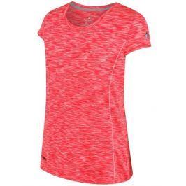 Dámské funkční triko Regatta Hyperdimension Velikost: XS (8) / Barva: růžová Dámská trička
