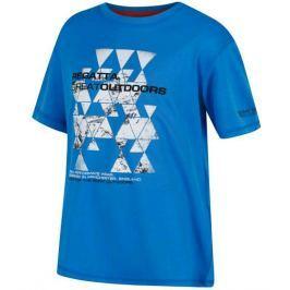 Dětské triko Regatta Alvarado III Dětská velikost: 128 / Barva: modrá