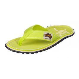 Dámské žabky Gumbies Islander Lime Turtle Velikost bot: 41 / Barva: lime