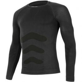 Pánské triko Lasting Apol dl.rukáv Velikost: S / M / Barva: černá
