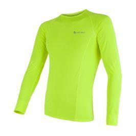 Pánské funkční triko Sensor Coolmax Fresh dl.rukáv Velikost: XXL / Barva: žlutá