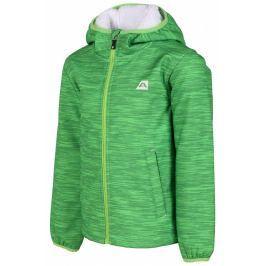 Dětská bunda Alpine Pro Baltazaro Dětská velikost: 140-146 / Barva: zelená