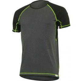 Pánské funkční triko Lasting Oto Velikost: S / Barva: šedá/zelená