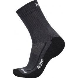 Ponožky Husky Active Velikost: 45 - 48 (XL) / Barva: černá