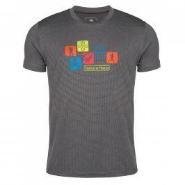 Pánské triko Kilpi Giacinto M Velikost: M / Barva: šedá