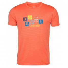 Pánské triko Kilpi Giacinto M Velikost: XL / Barva: oranžová