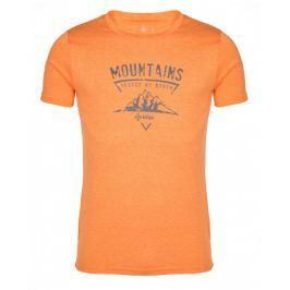 Pánské triko Kilpi Garove M Velikost: XXXL / Barva: oranžová