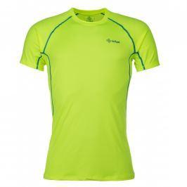 Pánské funkční triko Kilpi Rainbow M Velikost: M / Barva: žlutá