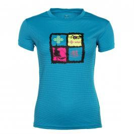 Dámské triko Kilpi Giacinto W Velikost: XS (34) / Barva: modrá