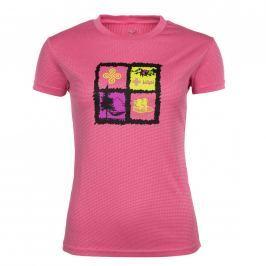 Dámské triko Kilpi Giacinto W Velikost: XXXL (46) / Barva: růžová