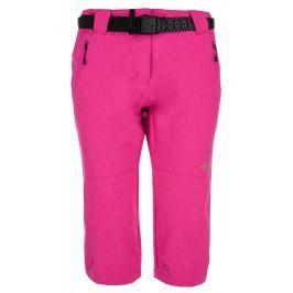 Dámské 3/4 kalhoty Kilpi Dalarna W Velikost: XXL (44) / Barva: růžová