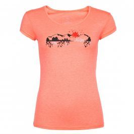 Dámské triko Kilpi Garove W Velikost: XXL (44) / Barva: oranžová