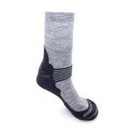 Ponožky Zulu Merino Men Velikost ponožek: 43-47 / Barva: šedá