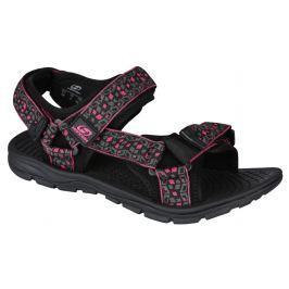 Sandály Hannah Feet (cube) Velikost bot (EU): 39 (6) / Barva: šedá/růžova