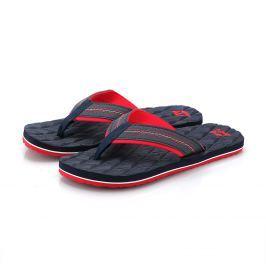 Pánské žabky Alpine Pro Nandu Velikost bot (EU): 43 / Barva: černá/červená