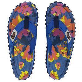 Dámské žabky Gumbies Islander Floral Velikost bot (EU): 40 / Barva: modrá