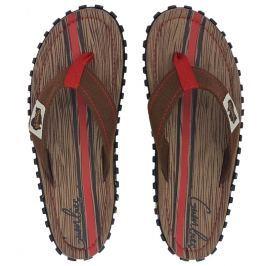 Pánské žabky Gumbies Islander Woody Velikost bot (EU): 45 / Barva: hnědá