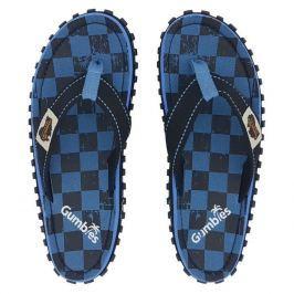 Pánské sandály Gumbies Islander Blue Checker Velikost bot (EU): 45 / Barva: modrá