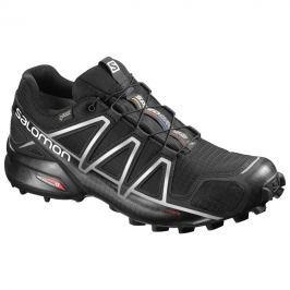 Pánské boty Salomon Speedcross 4 GTX® Velikost bot (EU): 44 (2/3) (UK 10) / Barva: Černá/Stříbrná