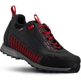 Pánské boty Alfa Varde A/P/S GTX M Velikost bot (EU): 41 / Barva: černá/červená