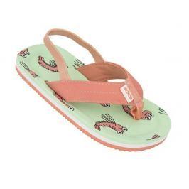 Dětské žabky Cool My Sweet Dětské velikosti bot: 27/28 / Barva: zelená/oranžová