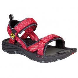Dámské sandály Source Gobi Triangles Red Velikost bot (EU): 42 / Barva: červená
