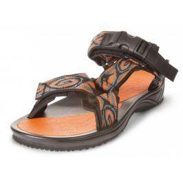 Sandály Triop Aqua 01 Velikost bot (EU): 40,5 / Barva: oranžová/šedá
