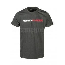 Pánské triko Northfinder Fatra Velikost: L / Barva: černá