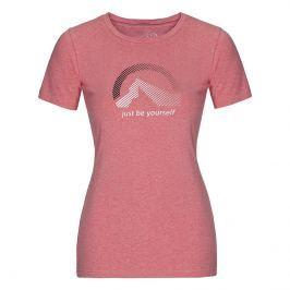 Dámské triko Northfinder Klara kr. rukáv Velikost: L / Barva: červená