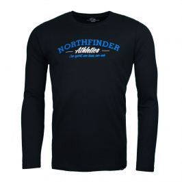Pánské triko Northfinder Manilo Velikost: M / Barva: černá