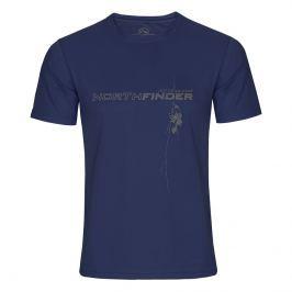 Pánské triko Northfinder Jack Velikost: L / Barva: modrá