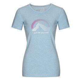 Dámské triko Northfinder Klara kr. rukáv Velikost: XL / Barva: modrá